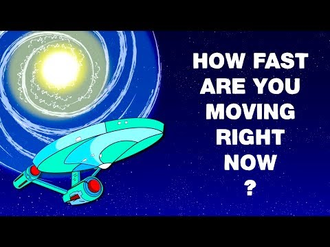 ما السرعة التي تتحرك بها الآن؟