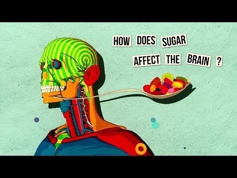 كيف يؤثر السكر على الدماغ