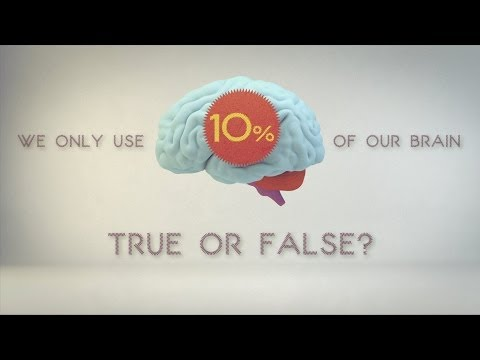 ما النسبة المئوية التي تستخدمها من دماغك؟