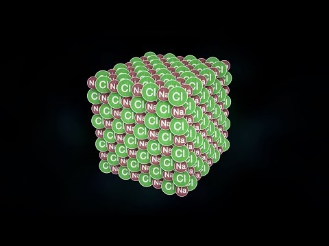 كيف تترابط الذرات