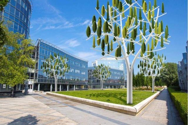 شجرة الرياح: تقنية جديدة لتوليد الطاقة الكهربائية