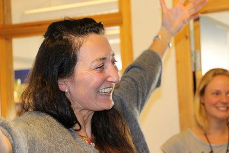 صاحبة جائزة نوبل للطب لسنة 2014 الدكتوراة May-Britt Moser