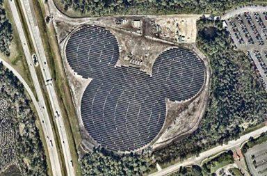 محطة ديزني الشمسية في ولاية فلوريدا.
