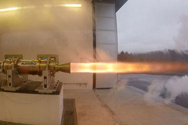 صورة 2. المحرك الصاروخي