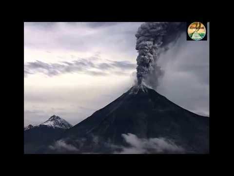 انفجار بركان