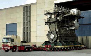 RTA9C-C أكبر محرك ديزل في العالم