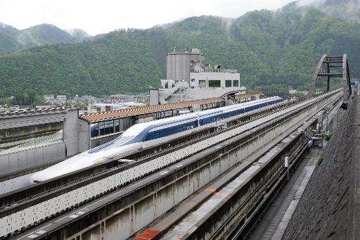 القطار الياباني فائق السرعة MAGLEV