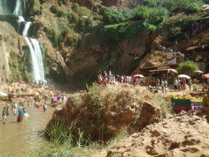 الصورة : شلالات أوزود، مراد الطاهر - المجتمع العلمي المغربي -